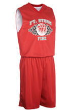 MBJ-1431 Mens Reversible Basketball Uniform and Boys